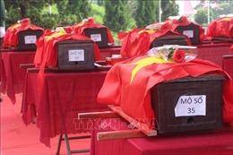 Nghệ An tổ chức đón nhận 95 hài cốt liệt sĩ hy sinh tại Lào