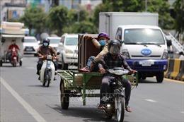 Số ca mắc mới COVID-19 tại Campuchia giảm nhẹ