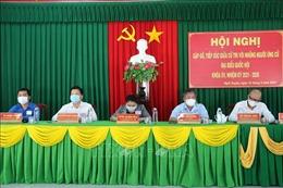 Các ứng cử viên đại biểu Quốc hội, đại biểu HĐND tiếp xúc cử tri, vận động bầu cử