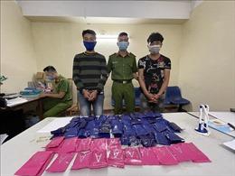 Bắt giữ hai đối tượng, thu 18.000 viên ma túy tổng hợp