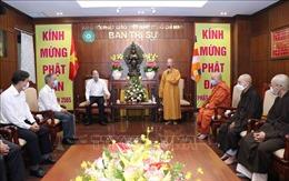 Lãnh đạo TP Hồ Chí Minh chúc mừng một số cơ sở Phật giáo nhân Lễ Phật đản 2021