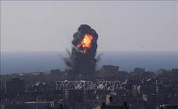 Israel không kích trụ sở ngân hàng của Hamas ở Gaza