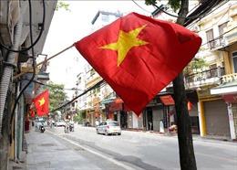 Hà Nội rực rỡ sắc đỏ chào mừng Ngày bầu cử ĐBQH và HĐND