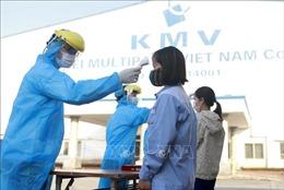 Các khu công nghiệp tuân thủ quy định phòng, chống dịch COVID-19