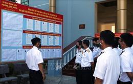 Lữ đoàn tàu ngầm 189 chuẩn bị chu đáo cho công tác bầu cử