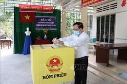Người dân 'Xứ dừa'nô nức tham gia bầu cử