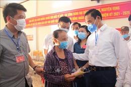 Các điểm bầu cử tại Hà Tĩnh diễn ra trang trọng, nghiêm túc