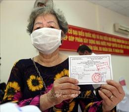 Cử tri Đà Nẵng đi bầu cử đảm bảo phòng dịch COVID-19