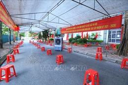 Các điểm bỏ phiếu tại Hà Nội đã sẵn sàng cho ngày bầu cử