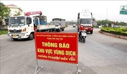 Kéo dài hoạt động 9 chốt kiểm soát trên các tuyến đường trọng yếu vào Vĩnh Phúc
