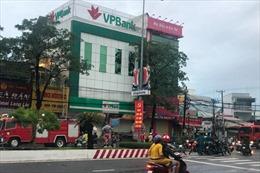 Điều tra nguyên nhân vụ cháy tại chi nhánh một ngân hàng ở Kiên Giang