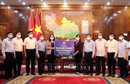 Phó Chủ tịch nước Võ Thị Ánh Xuân thăm, động viên nhân dân Bắc Ninh phòng, chống dịch COVID-19