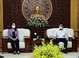 Phó Chủ tịch nước Võ Thị Ánh Xuân thăm, động viên nhân dân Bắc Giang