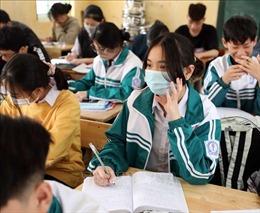 Hà Nội: Bảo đảm an toàn sức khỏe cho thí sinh thi vào lớp 10