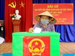Thái Bình bầu cử thêm 4 đại biểu Hội đồng nhân dân cấp xã