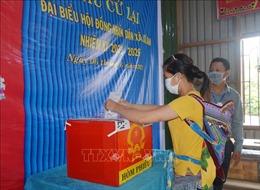 Bầu cử lại đại biểu HĐND xã tại 3 đơn vị bầu cửở Đắk Lắk