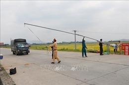 Bắc Giang: Dỡ bỏ lệnh cách ly xã hội 2 huyện Lục Nam, Yên Thế