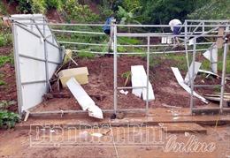 Điện Biên: Mưa lũ khiến một người chết, nhiều nhà cửa bị hư hại