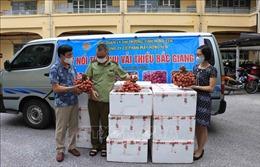 Hưng Yên hỗ trợ tiêu thụ vải thiều Bắc Giang