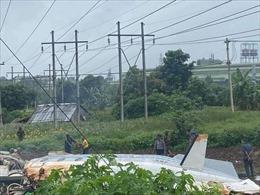 Chính quyền quân sự Myanmar xác nhận 12 người thiệt mạngtrong vụ tai nạn máy bay