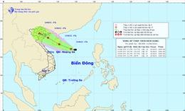 Vùng áp thấp có khả năng mạnh thành áp thấp nhiệt đới, Bắc và Trung Bộ mưa lớn diện rộng