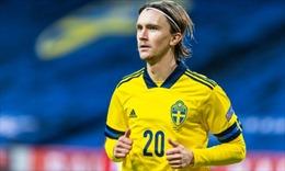 EURO 2020: Kristoffer Olsson - Tiền vệ 'phá băng'của bóng đá Thụy Điển