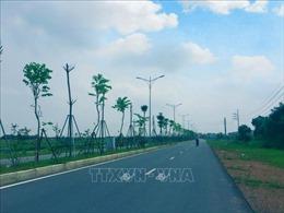 Đầu tư giai đoạn 2 đường trục khu đô thị mới Mê Linh đoạn xen kẹp qua Hà Nội
