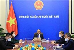 Chủ tịch nước Nguyễn Xuân Phúc điện đàm với Tổng Thư ký Liên hợp quốc Antonio Guterres