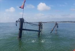 Quảng Trị: Kịp thời cứu 5 thuyền viên trên tàu cá bị cháy