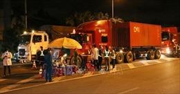 Không kiểm tra giấy xét nghiệm COVID-19 lái xe vận chuyển hàng hóa trong nội vùng 19 tỉnh phía Nam