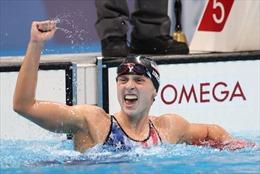 Huyền thoại K.Ledecky thắng áp đảo ở nội dung bơi 1500m tự do của nữ