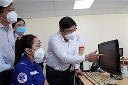 TP Hồ Chí Minh: Nâng cấp Tổng đài 115 phục vụ điều phối cấp cứu bệnh nhân COVID-19