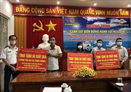 Bộ Tư lệnh Vùng Cảnh sát Biển 4 hỗ trợ người dân khó khăn