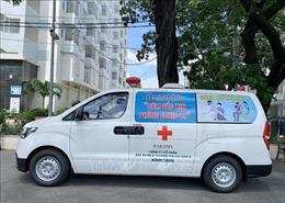 TP Hồ Chí Minh triển khai tiêm chủng vaccine lưu động