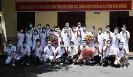 Tăng cường nhân lực y tế hỗ trợ TP Hồ Chí Minh và Bình Dương chống dịch