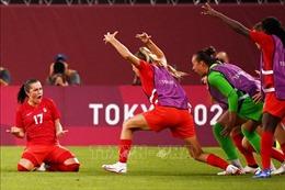 Olympic Tokyo 2020: Tuyển bóng đá nữ Canada sẵn sàng cho trận chung kết với Thụy Điển