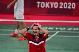 Olympic Tokyo 2020: Viktor Axelsen tự hào với tấm huy chương Vàng môn cầu lông