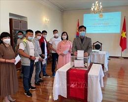 Người Việt tại Mông Cổ quyên góp,ủng hộ Quỹ phòng, chống dịch COVID-19