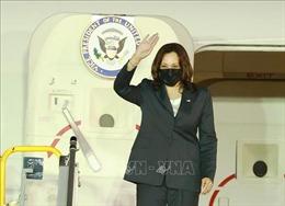 Phó Tổng thống Hoa Kỳ Kamala Harris đã đến Hà Nội