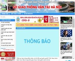 Sở GTVT Hà Nội tiếp tục tạm dừng giải quyết thủ tục hành chính trực tiếp