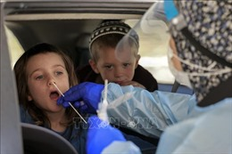 Hệ số lây nhiễm SARS-CoV-2 ở Israel tăng trở lại mức 1