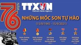 76 năm Thông tấn xã Việt Nam: Những mốc son tự hào