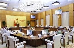 Ủy ban Thường vụ Quốc hội cho ý kiến về báo cáo tình hình giải quyết, trả lời kiến nghị cử tri