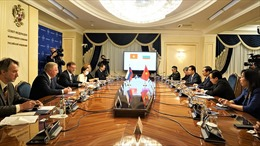 Bộ trưởng Ngoại giao Bùi Thanh Sơn gặp Phó Chủ tịch Hội đồng Liên bang Nga