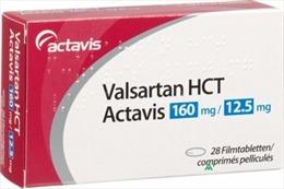 Thu hồi thuốc sản xuất từ nguyên liệu Valsartan do một công ty của Trung Quốc sản xuất