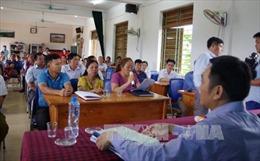Hòa Bình quyết tâm giải quyết dứt điểm 9 vụ việc khiếu nại, tố cáo phức tạp kéo dài
