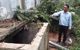 Nhận đủ tiền thi công nhưng công trình cấp nước vẫn 'án binh bất động'