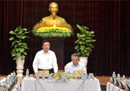 Bí thư Trung ương Đảng Nguyễn Xuân Thắng làm việc tại thành phố Đà Nẵng