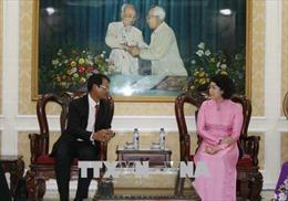 Chia sẻ kinh nghiệm hoạt động Mặt trận giữa Thành phố Hồ Chí Minh và tỉnh Champasak (Lào)