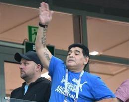 Bê bối trong vai trò Đại sứ FIFA, Maradona vẫn kiếm được công việc 'béo bở'